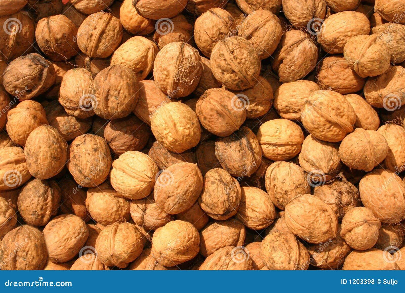 Wallnut background