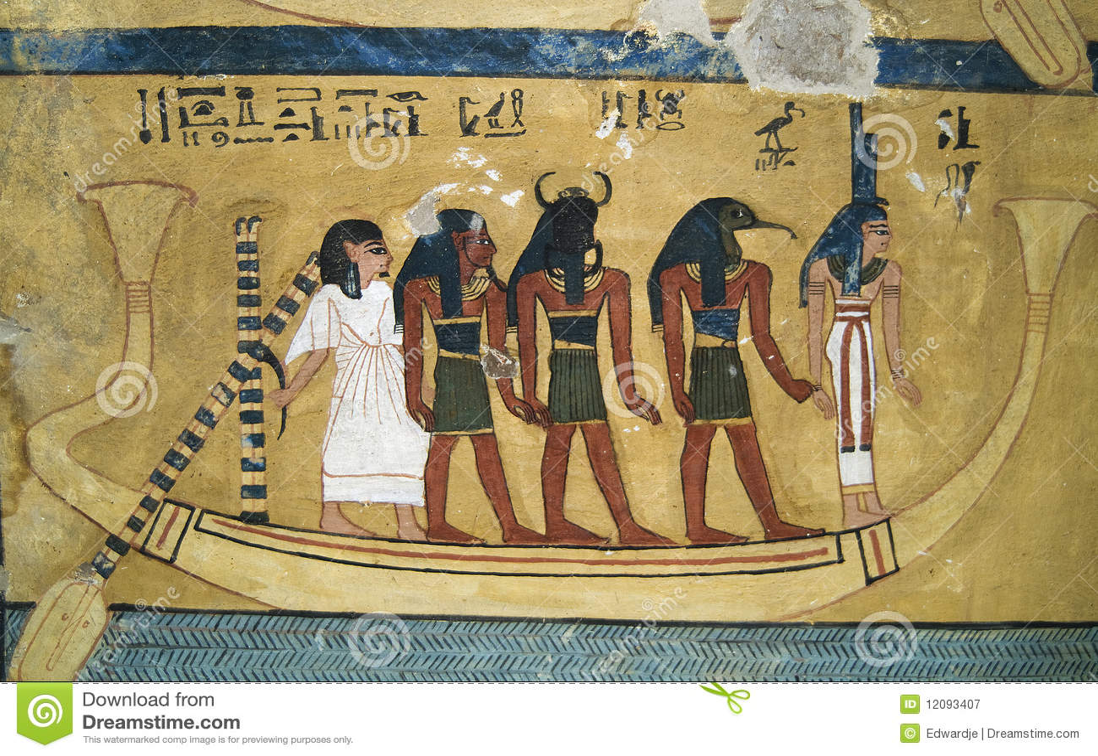 Wallpainting egípcio 2