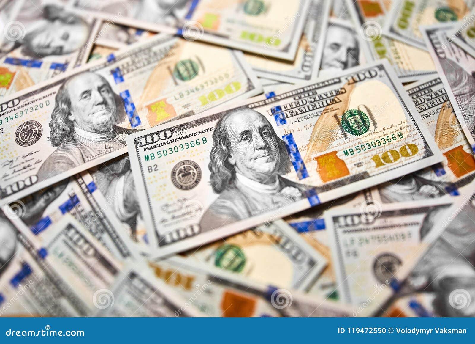 Background Of 100 Dollar Bills Money American Hundred