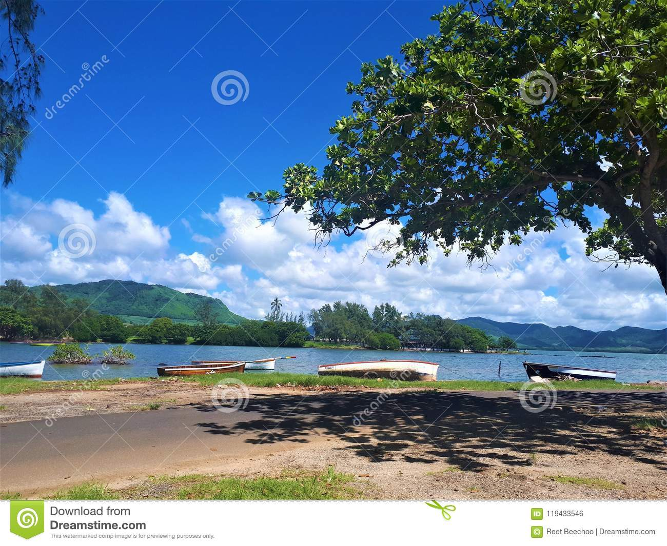 Wallpaper Editorial Photo Image Of Tropical View Mauritius