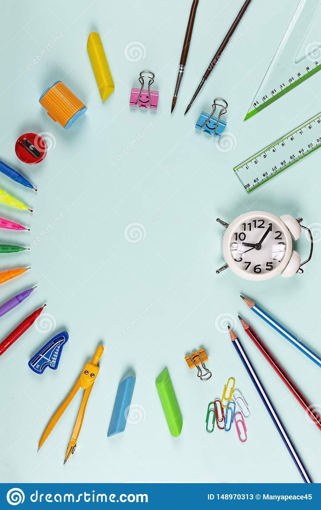 Wallpaper Clipart Cartoon Art Powerpoint Anime High School Design Colorful Stock Image Image Of Minimal Material 148970313