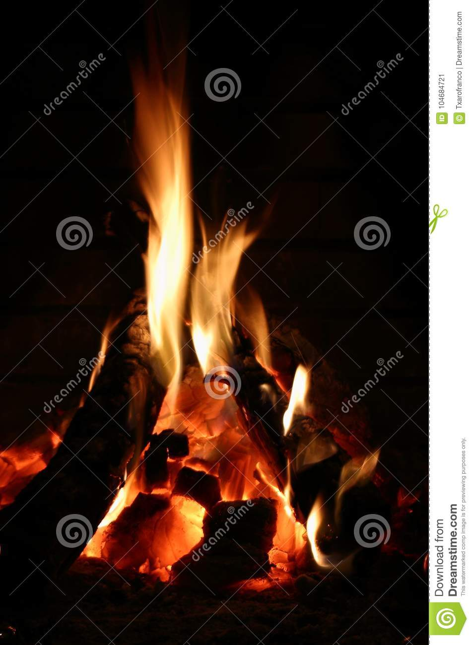 wallpaper fire fireplace black background brick strong contrast colors brown orange image appropriate 104684721