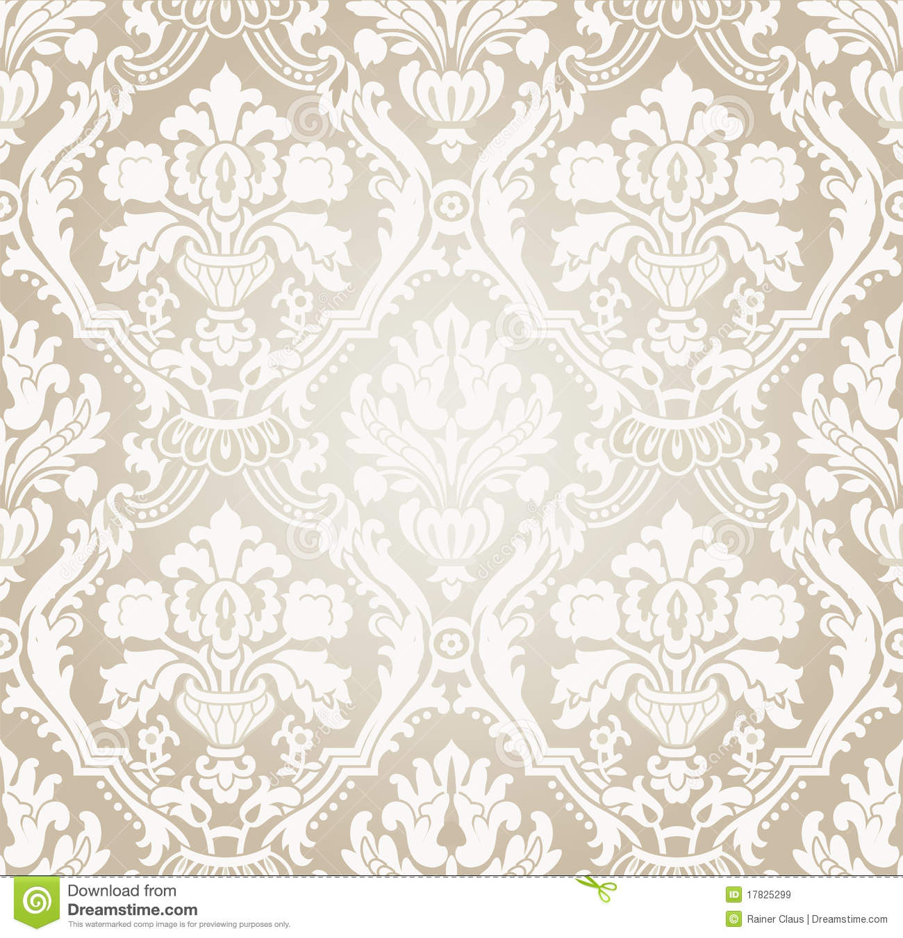 Wallpaper gray beige flow royalty free stock images image 17825299 - Papiers peints vintage ...
