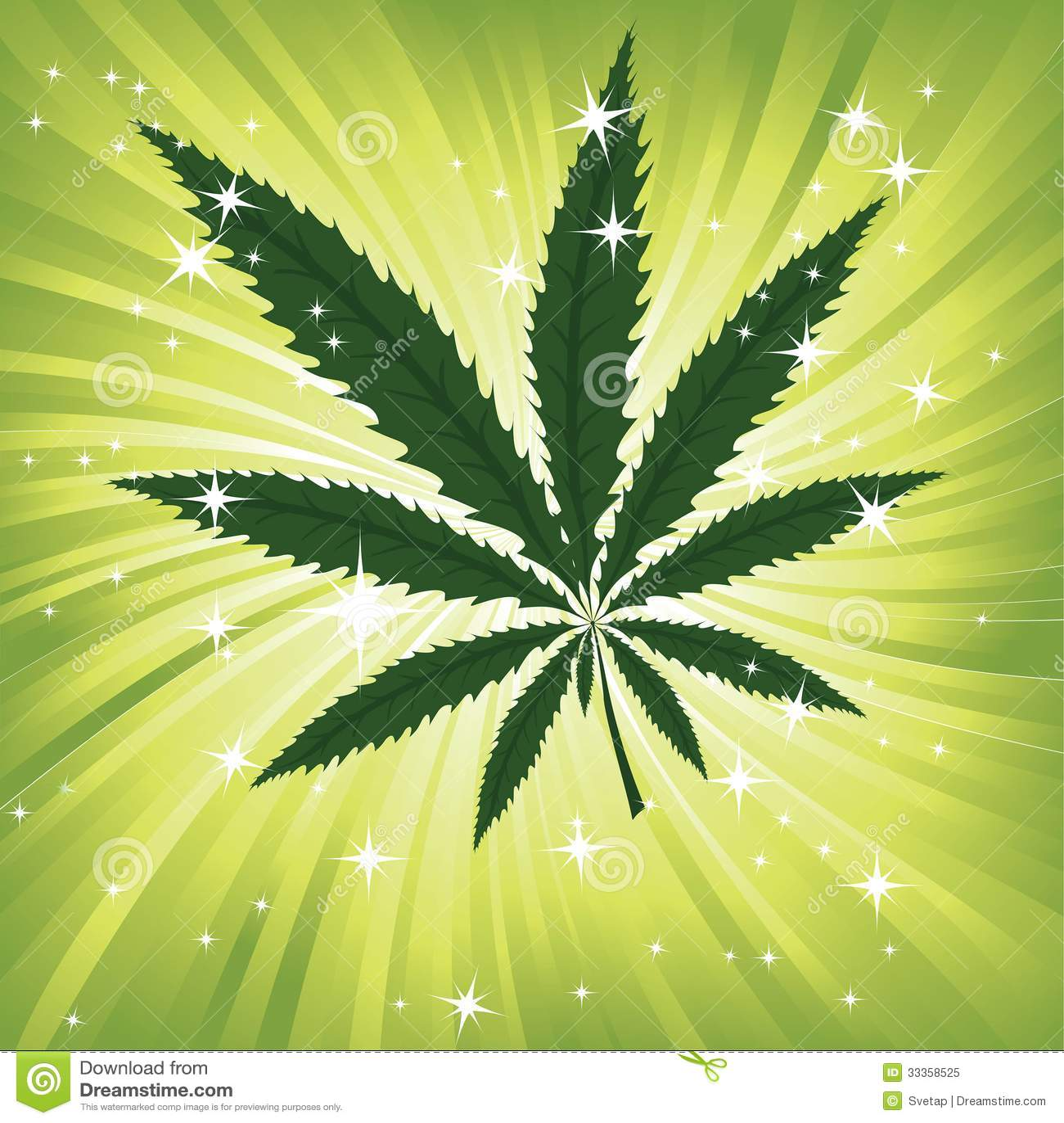 Leaf space background texture vector marijuana leaves illustration