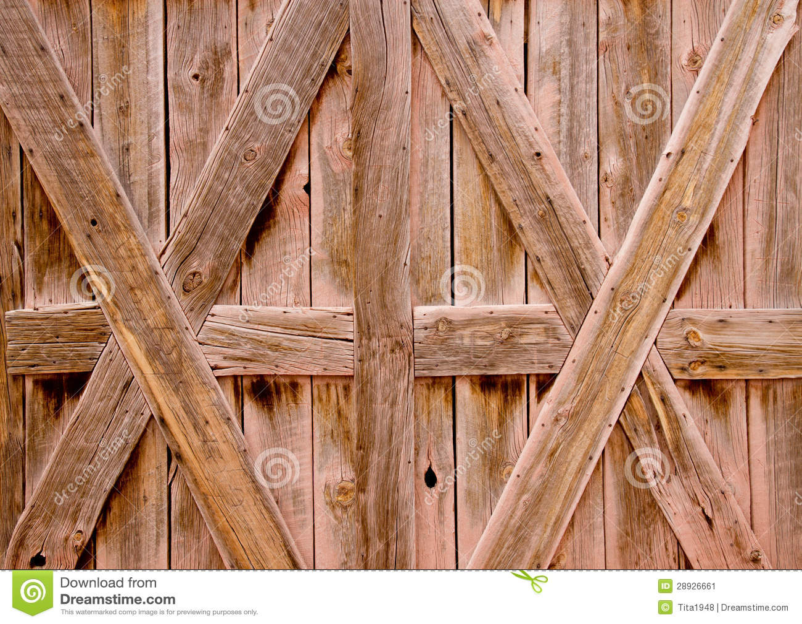 Wallpaper Old Barn Doors