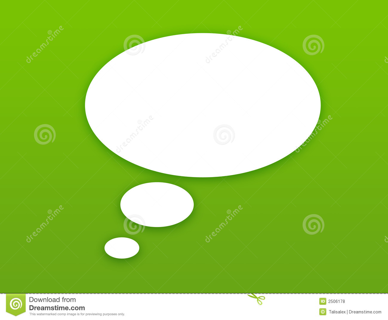 Download Wallpaper With Talking Bubble Stock Illustration