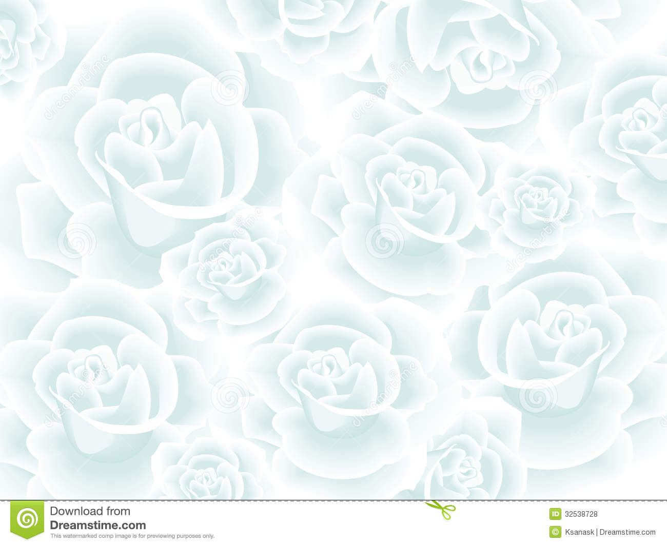 Wallpaper with white roses royalty free stock photos - Papel de pared decorativo ...