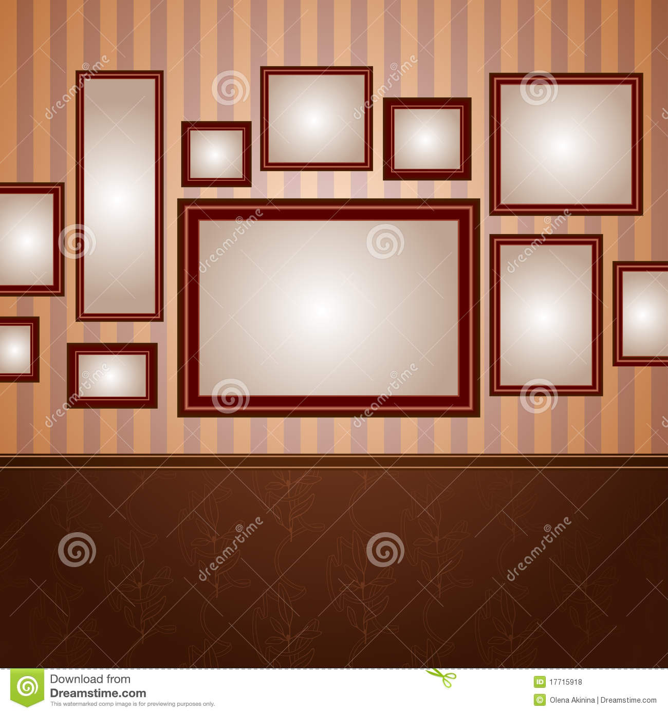 Wallpapers Frame Stock Illustrations – 20,20 Wallpapers Frame ...