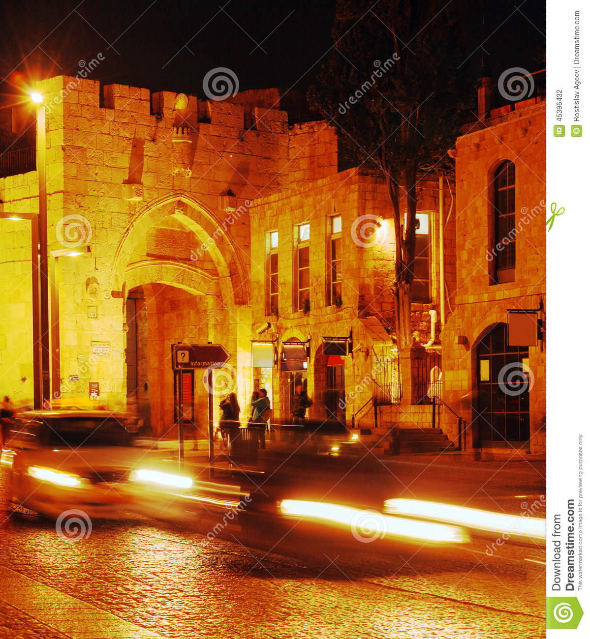 Walls of Ancient City and Jaffa Gate, Jerusalem, Israel