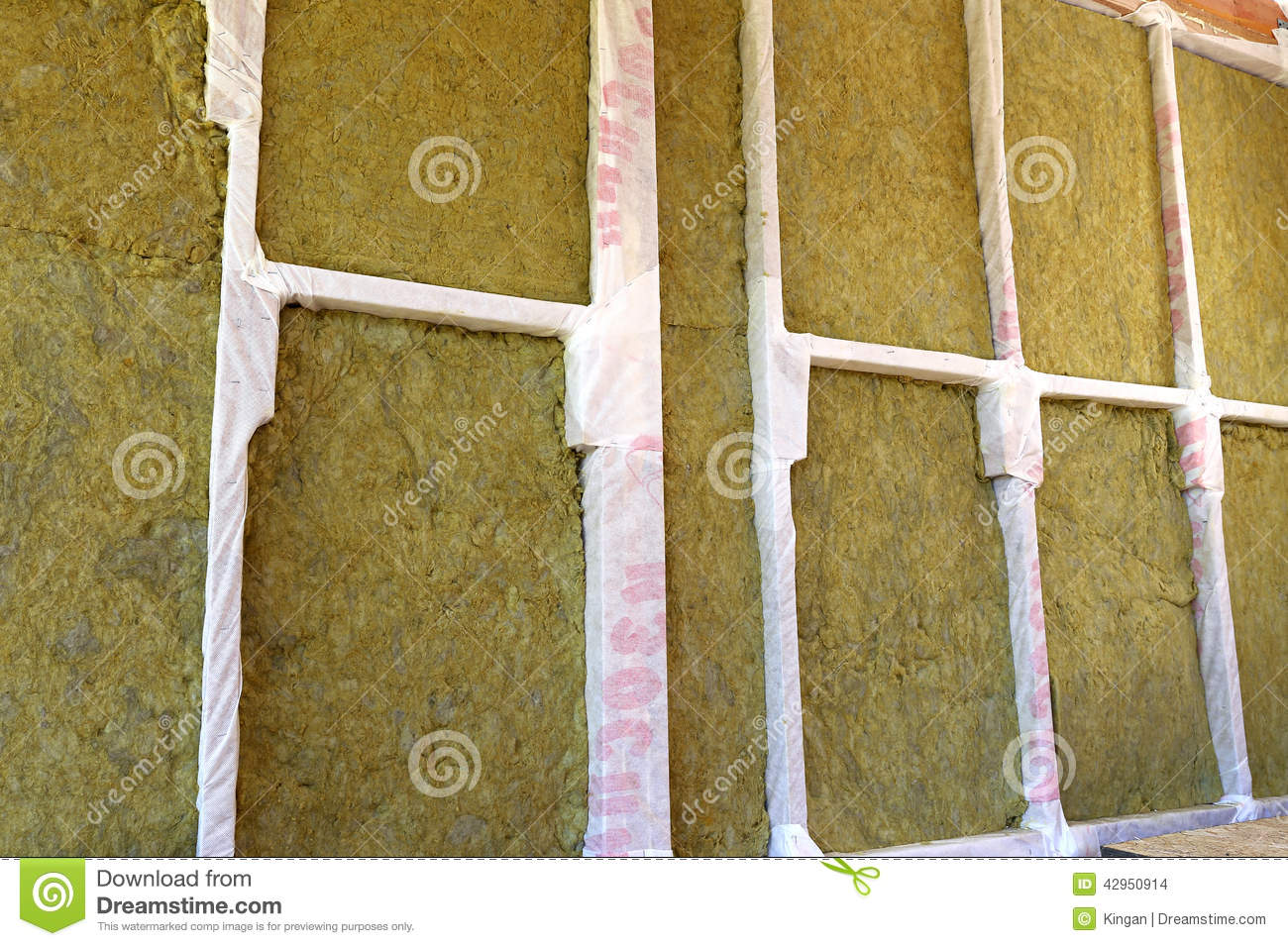 Wonderful Walls Of A Frame House With Different Types Of Heat Insulation