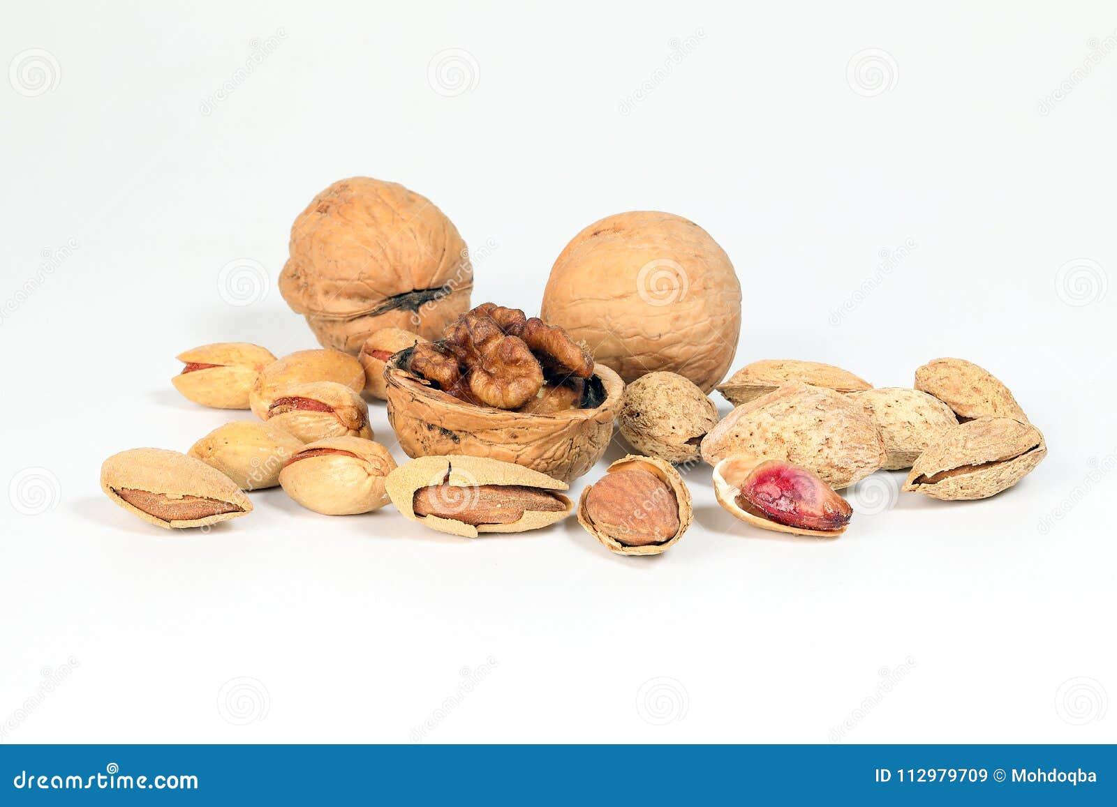 Walnut Almond pistachio