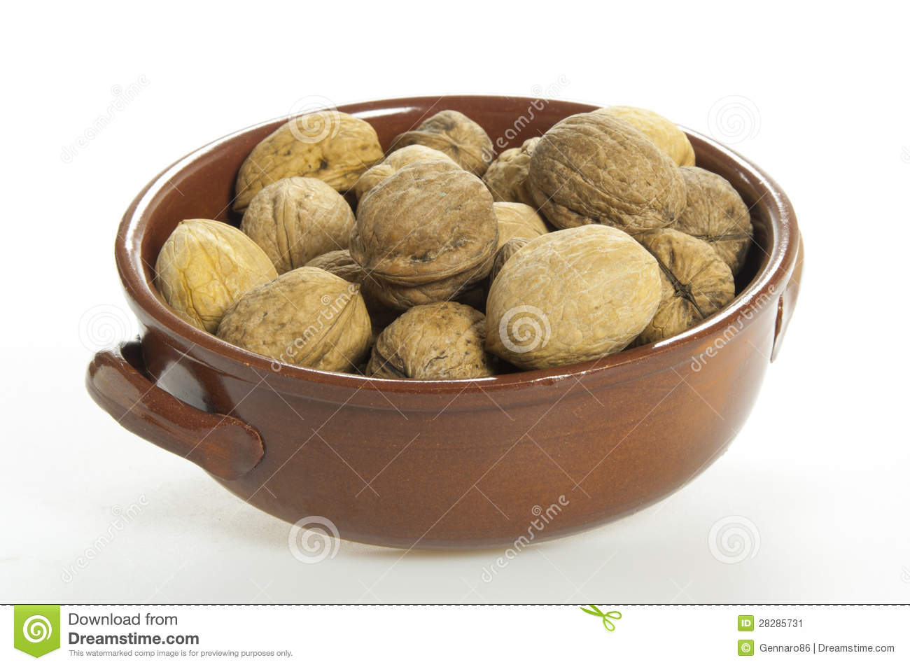 Walnuts in a cup