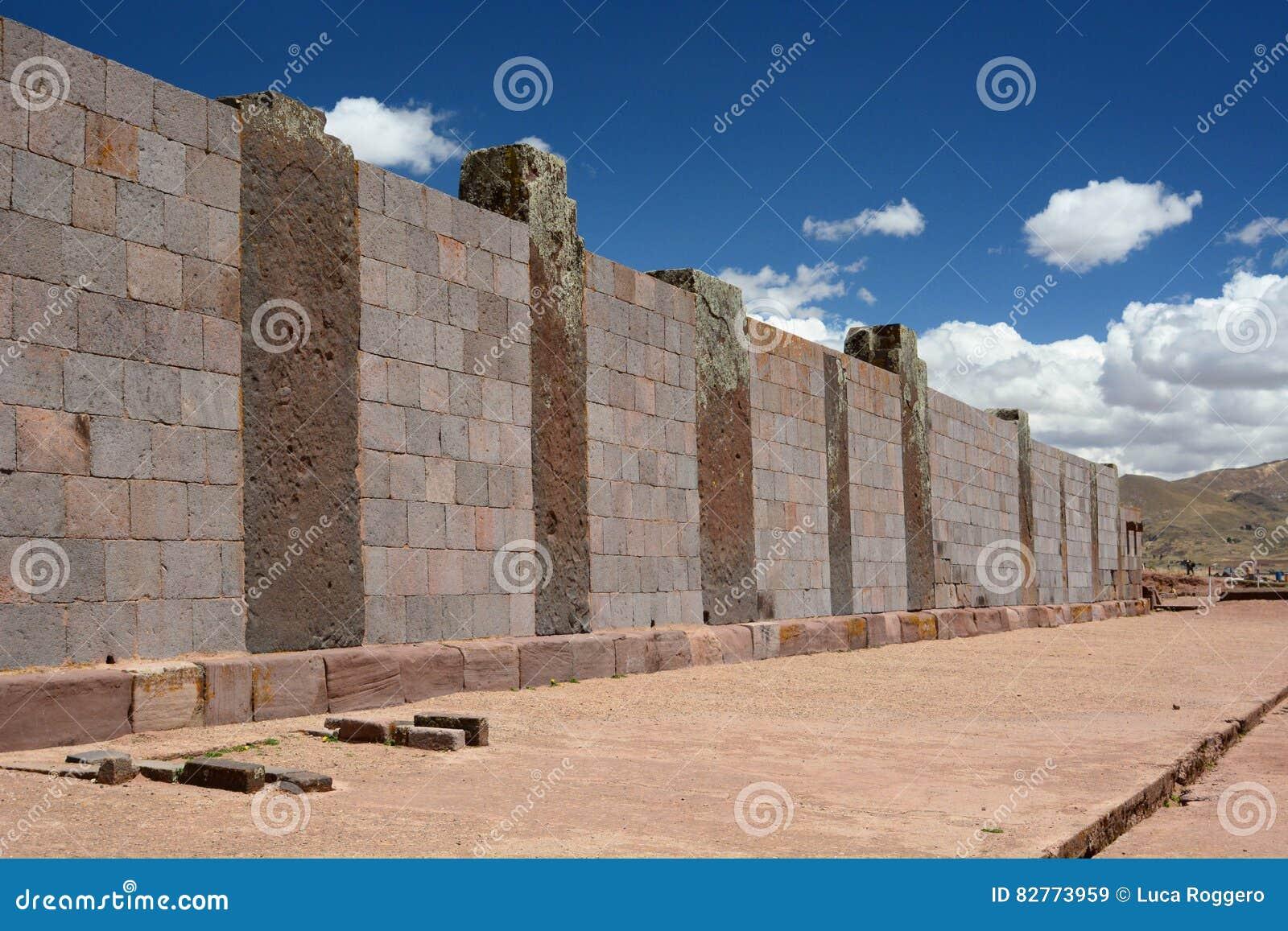 Walpole Tiwanaku archeologiczny miejsce Boliwia