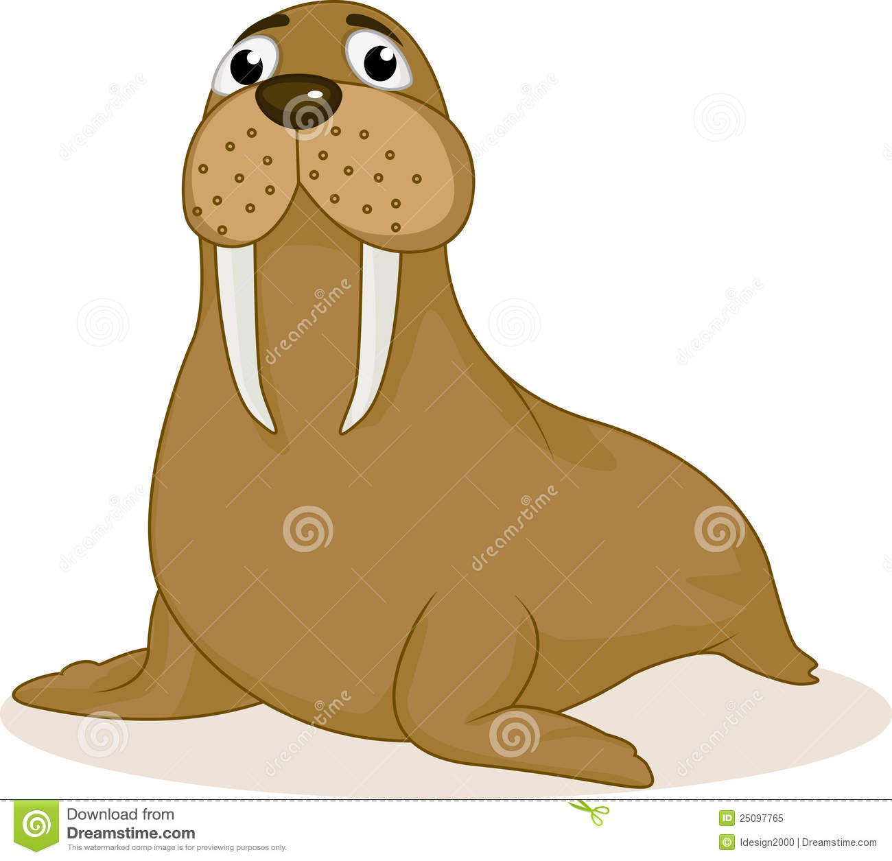 Fat walrus cartoon - photo#9