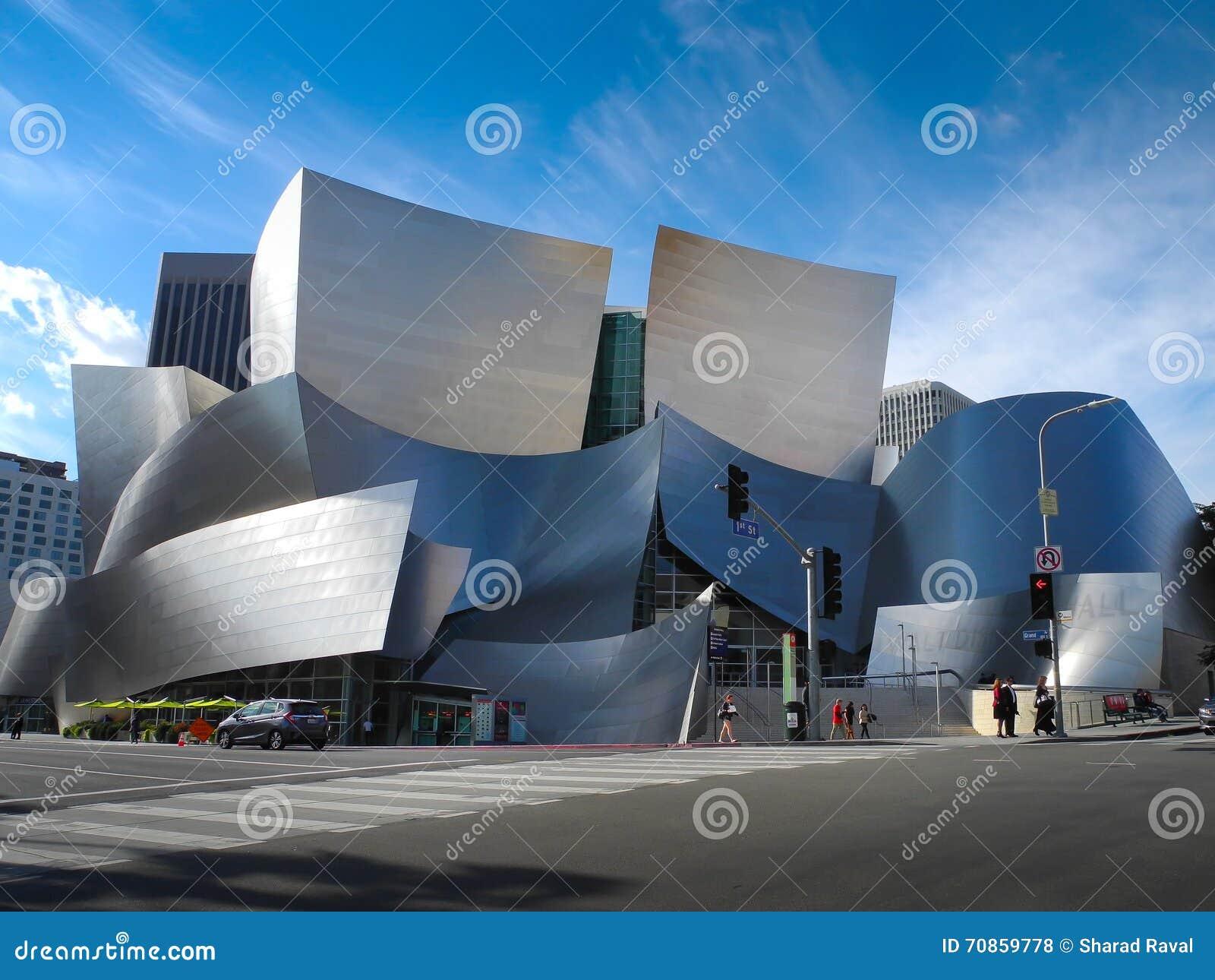 Walt Disney Concert Hall a Los Angeles, CA, U.S.A.