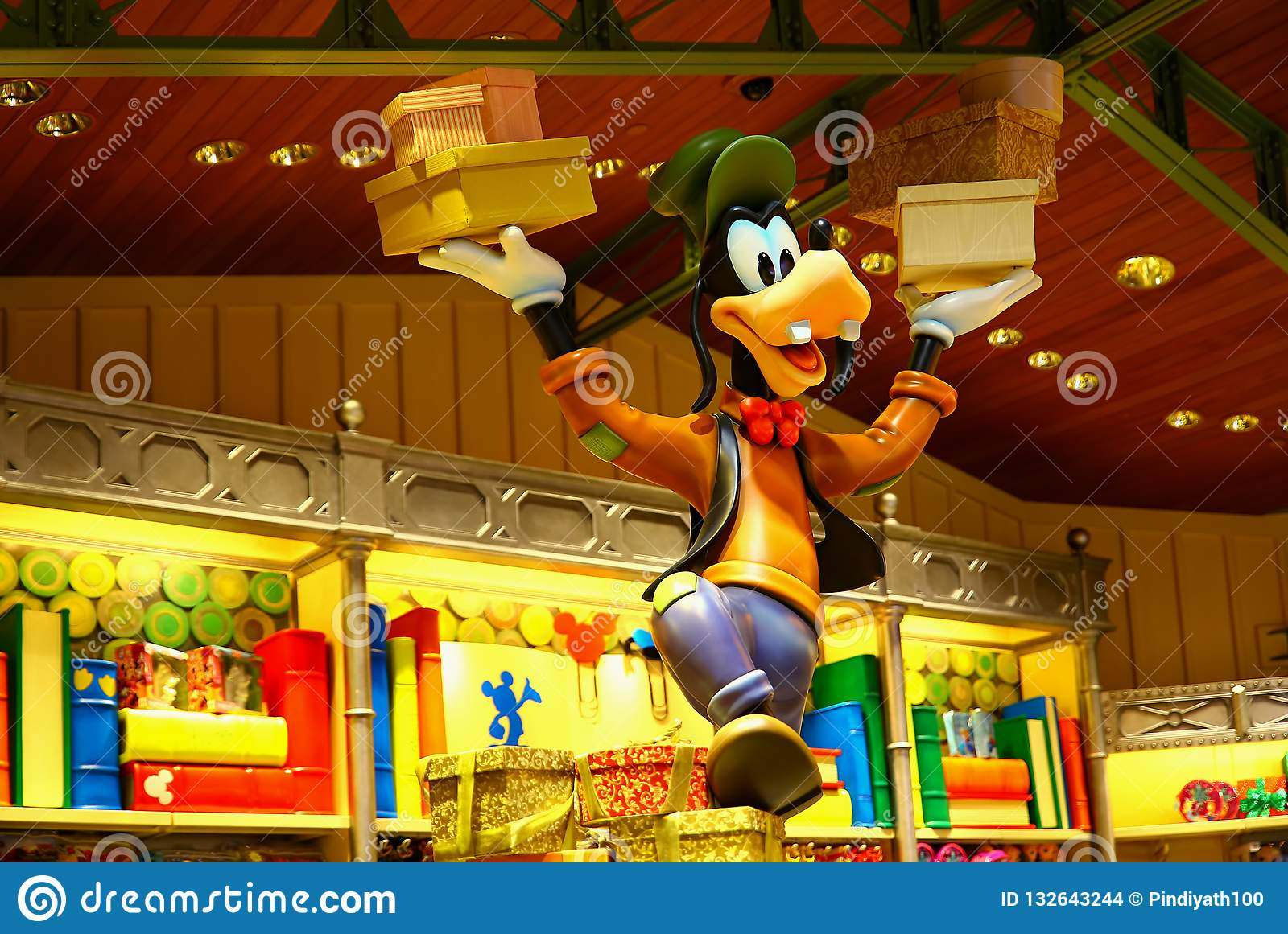 Walt Disney Goofy Character Editorial Stock Image Image Of Character Commercial 132643244