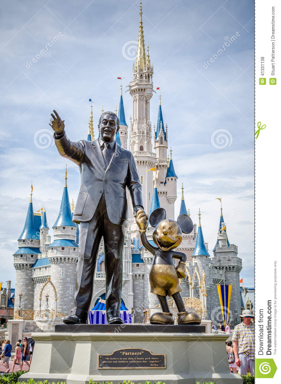 Editorial Stock Photo Walt Disney Mickey Mouse Statue Front Cinderella S Castle World Orlando Florida Image41331138 on disney cinderella castle floor plan