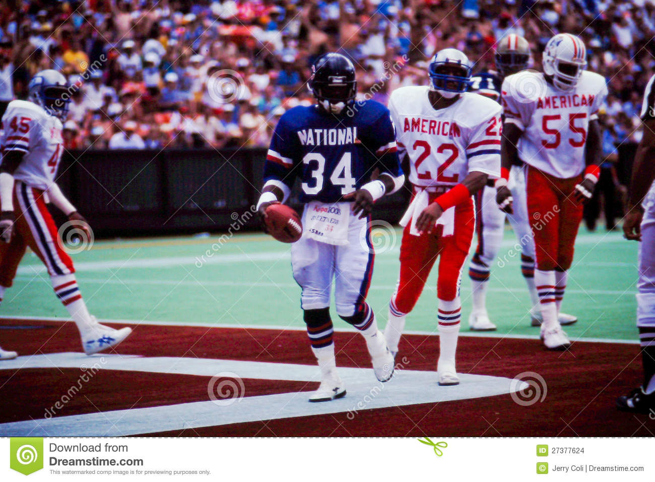 new concept 9f92e 42c28 Walter Payton NFC Pro-Bowl Player Editorial Stock Image ...
