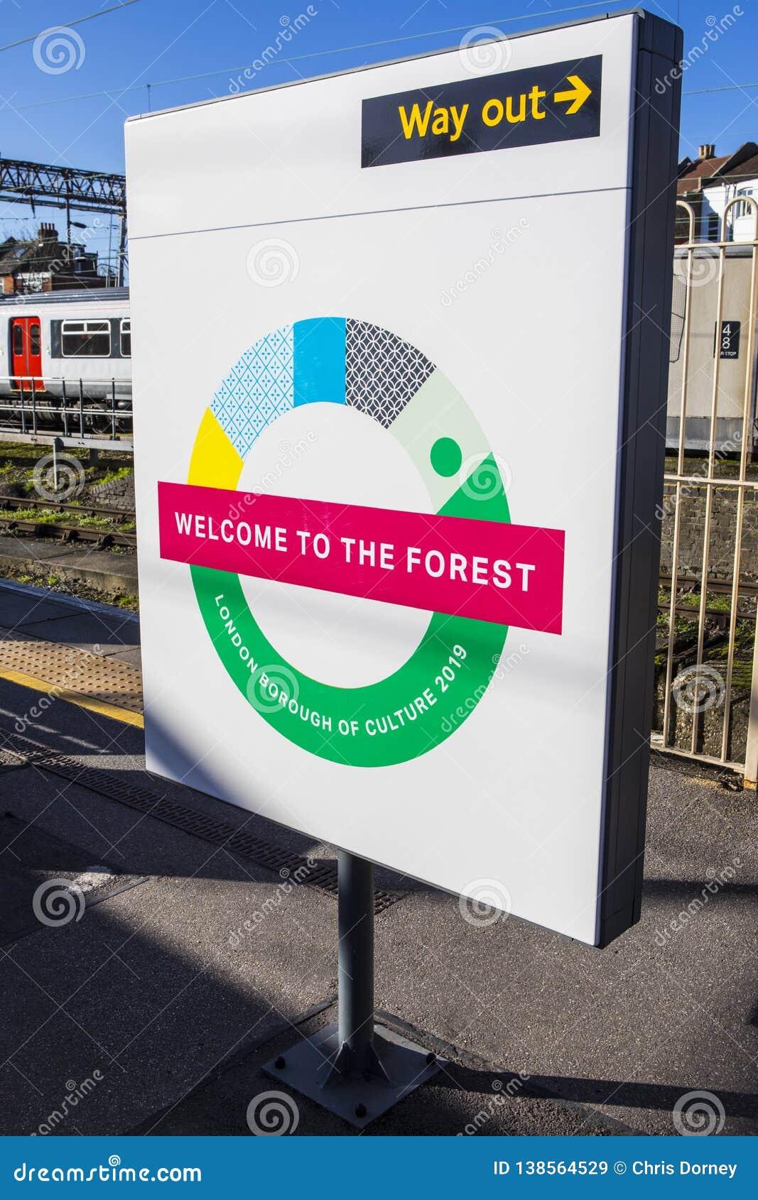Waltham Forest London Borough der Kultur