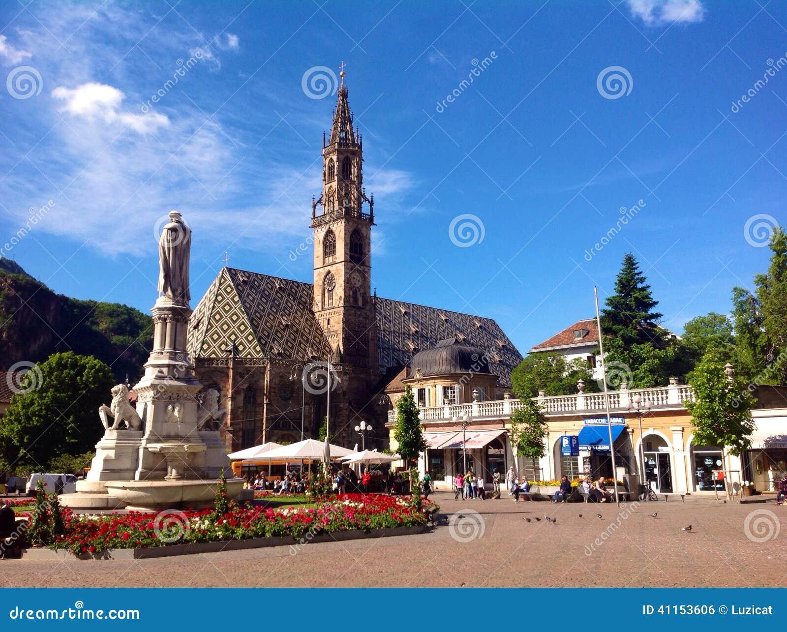 Walther Square in Bolzano