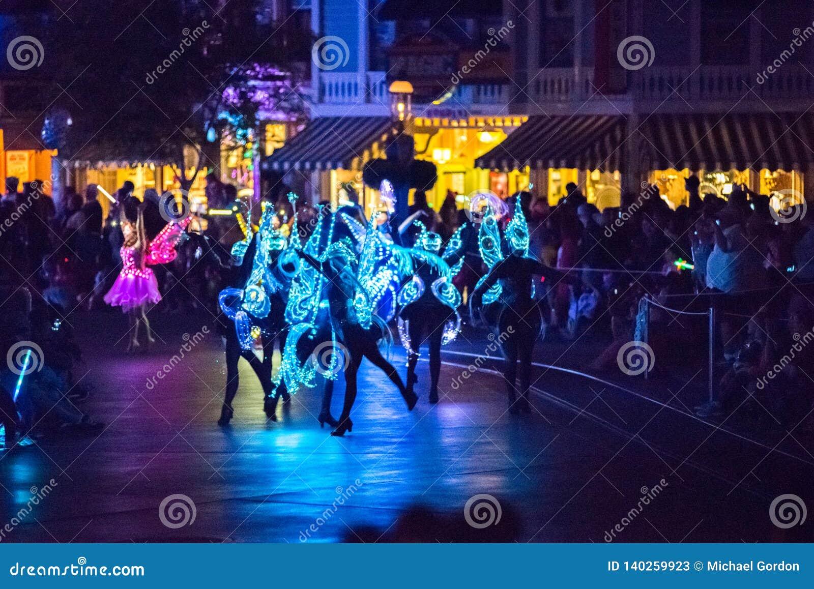 Walts Disney Companys Disneyland nöjesfält i Anaheim