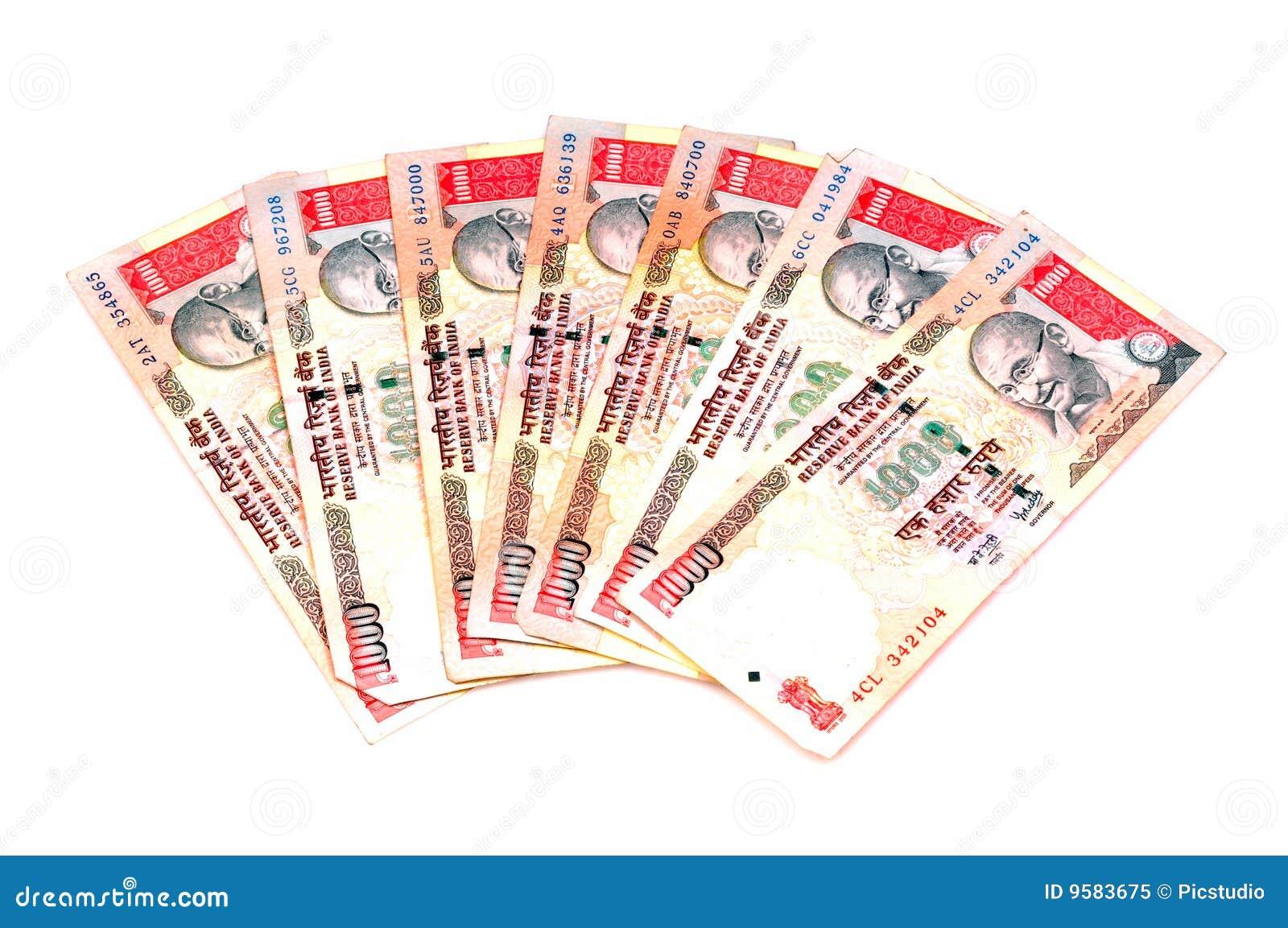 Waluta hindusa notatki