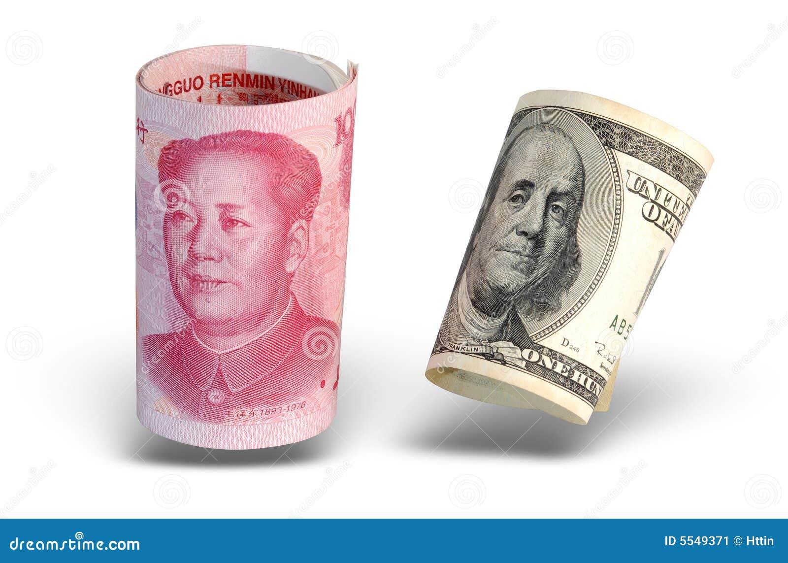 Waluta jest odizolowany, chiny