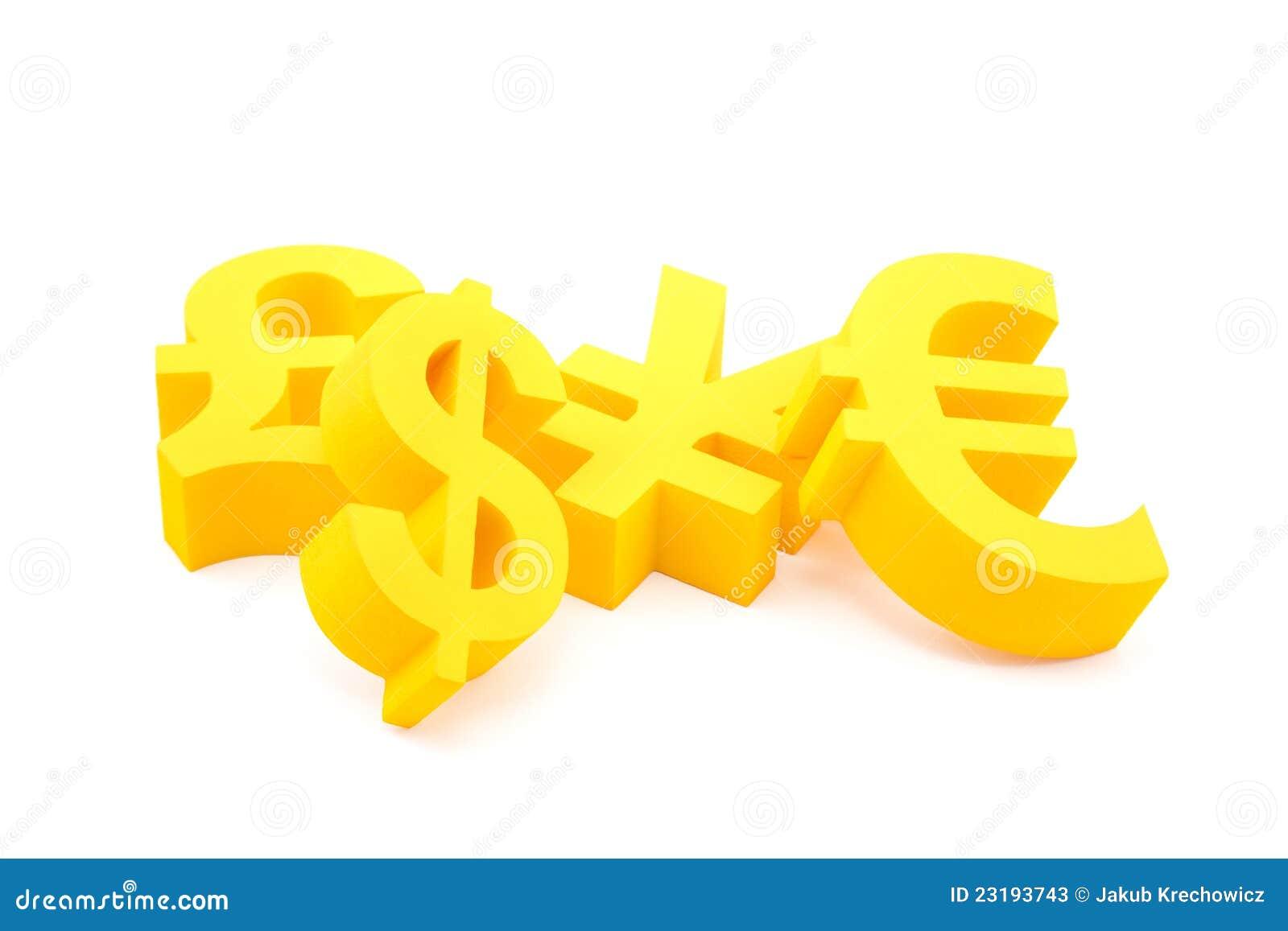 Waluta symbole