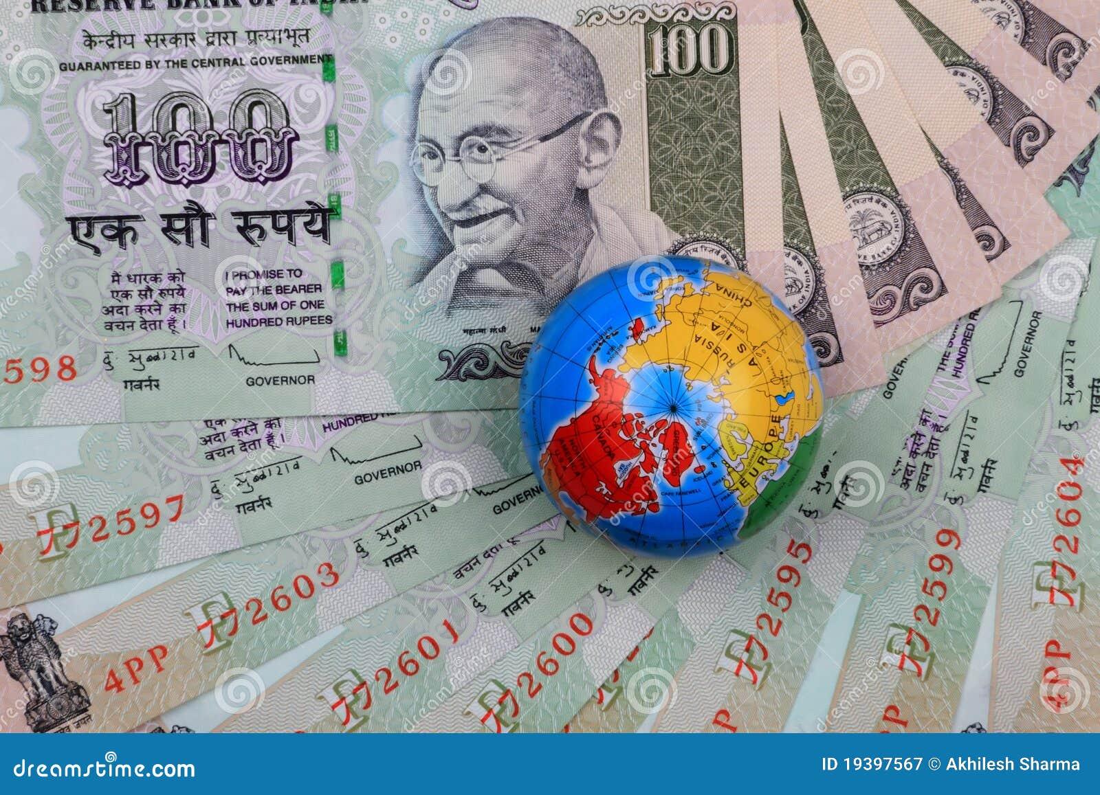 Waluty kuli ziemskiej hindusa rupie