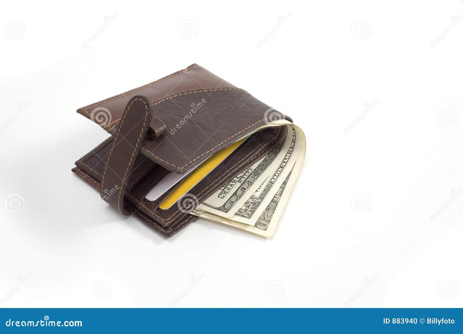 Waluty portfel skóry