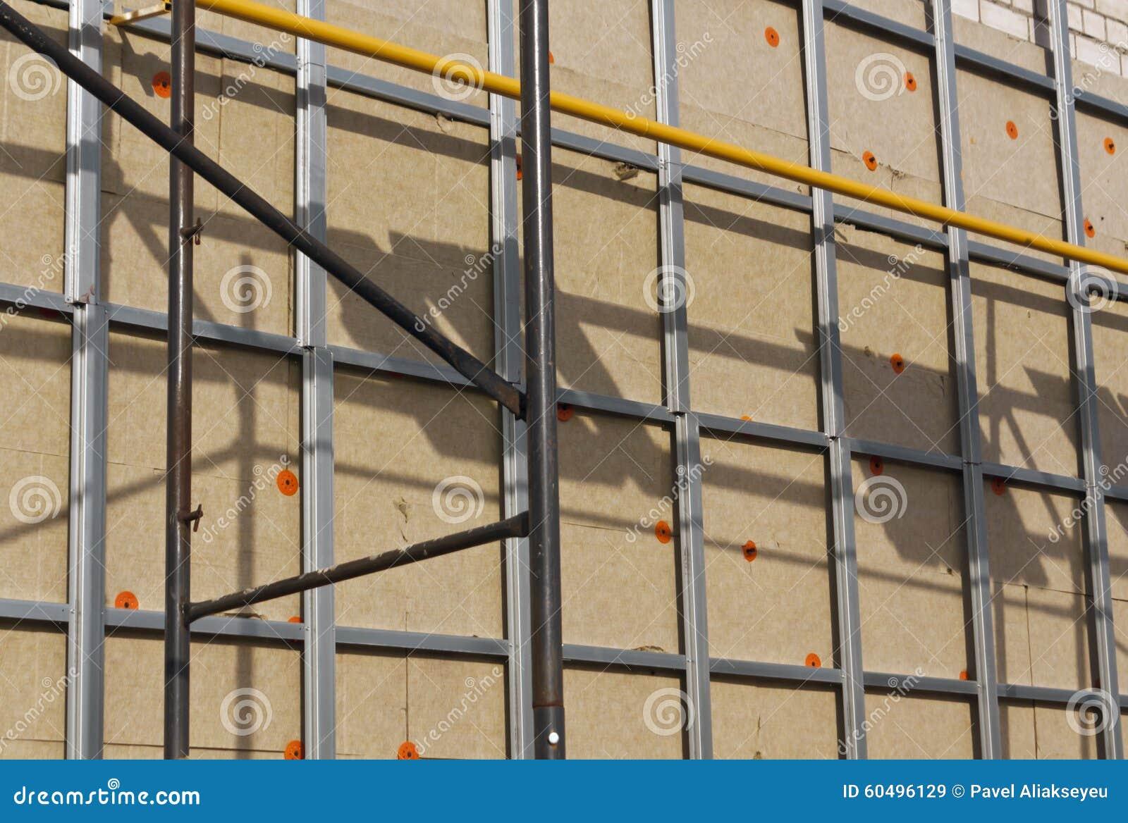 Wand bereit zur Verkleidung