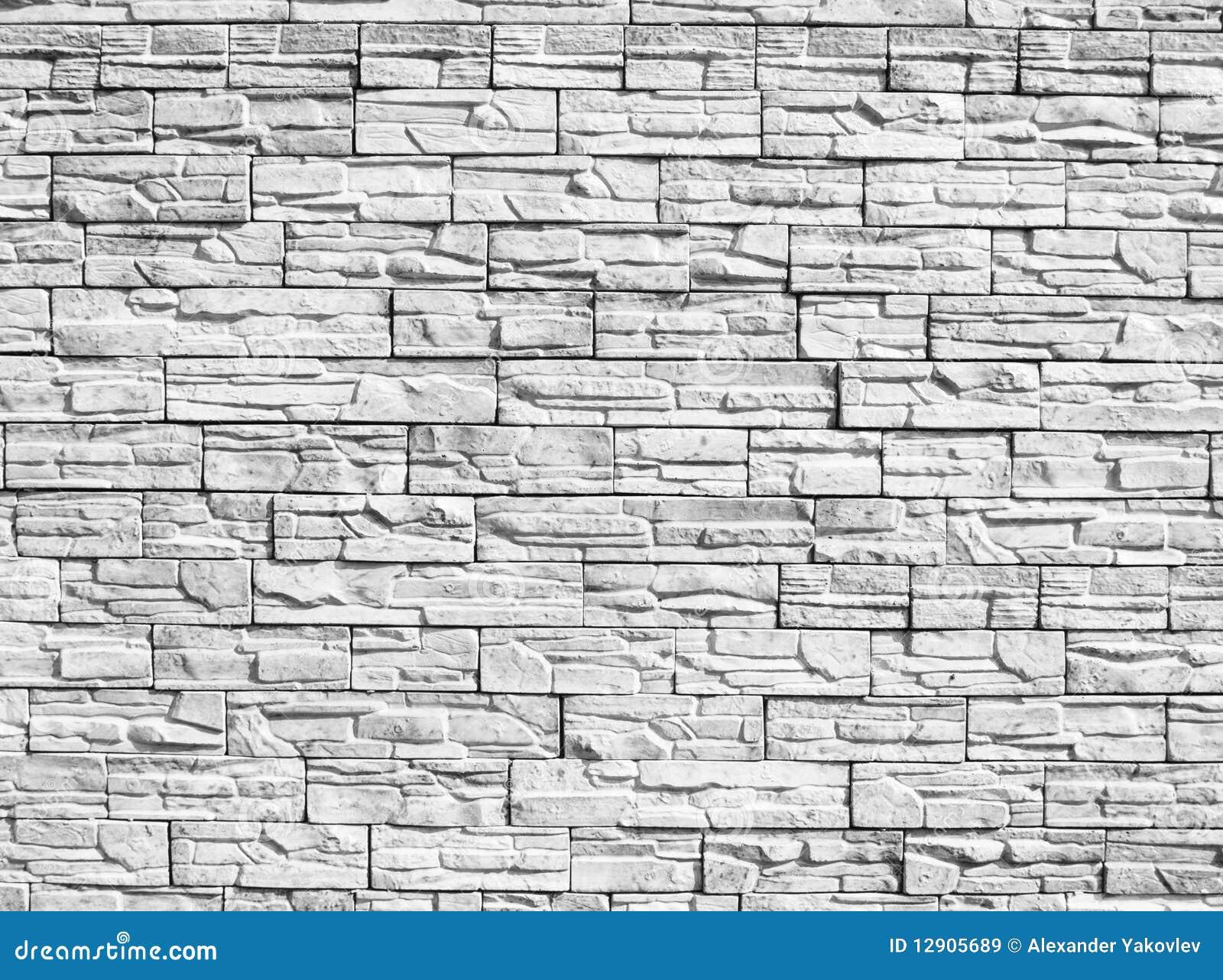 wand der dekorativen steine lizenzfreie stockbilder bild 12905689. Black Bedroom Furniture Sets. Home Design Ideas