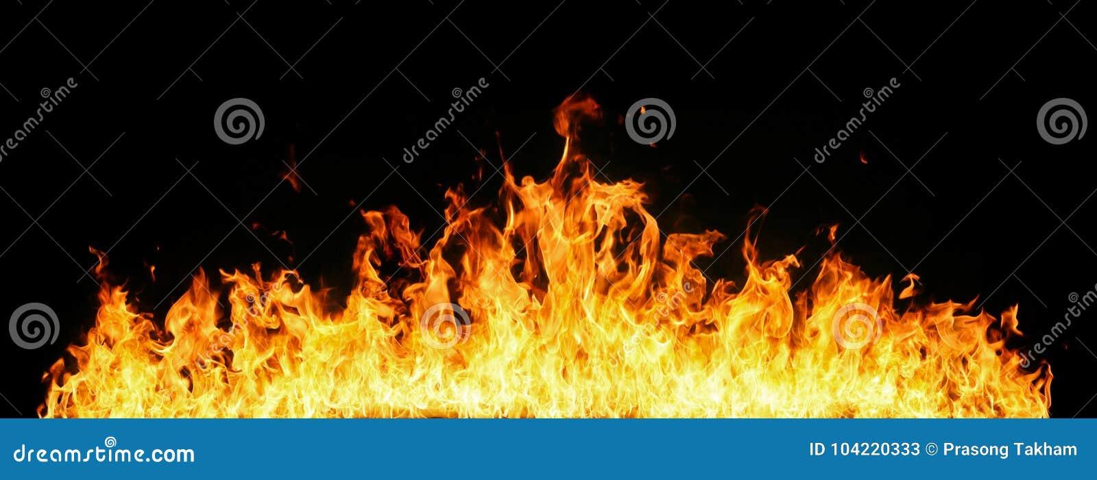 Wand der Flammen