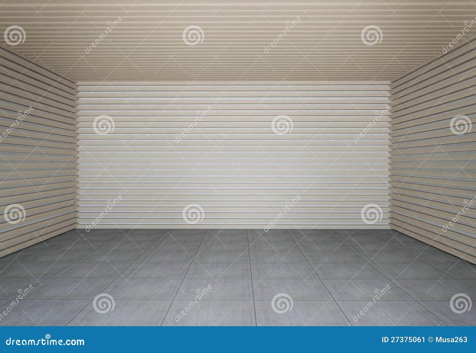 Wand der hölzernen Latten