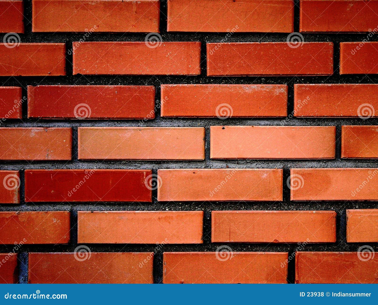 Wand der roten Ziegelsteine III
