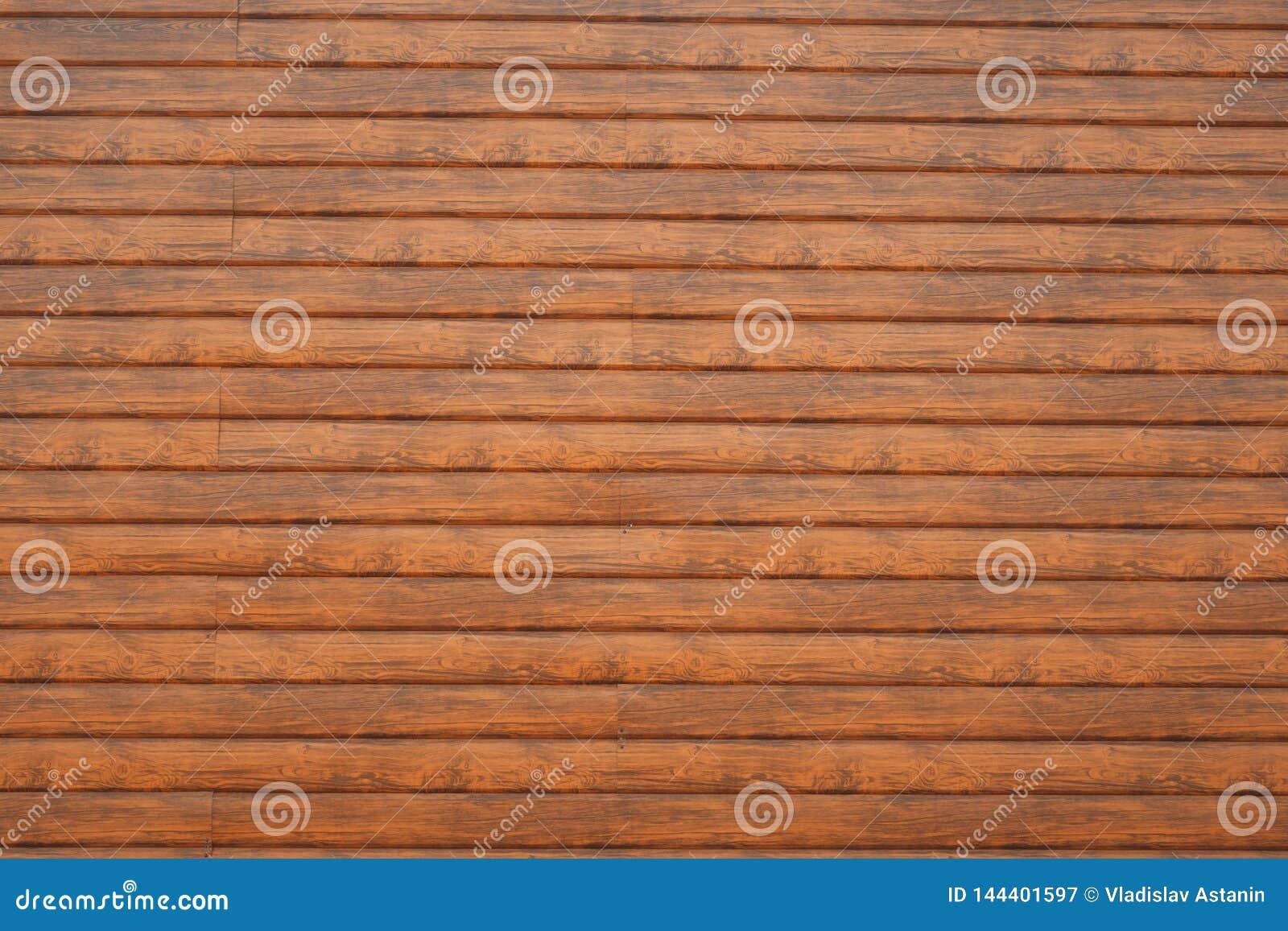 Wand hergestellt von den h?lzernen Planken H?lzerne Wandbeschaffenheit