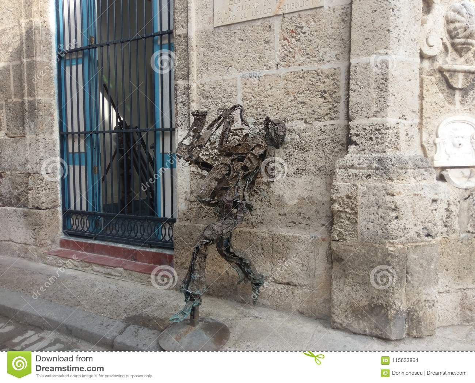 Wand Skulptur Fassade Strassenkunst Fenster Gebaude Monument Stockfoto Bild Von Fassade Wand 115633864
