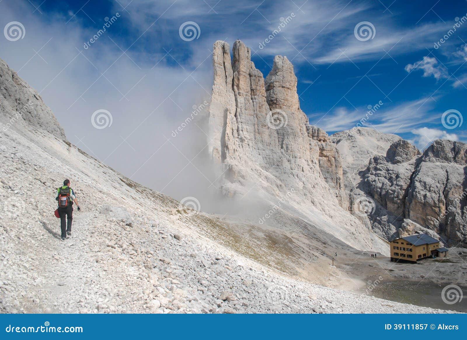 Wandeling in het Dolomiet
