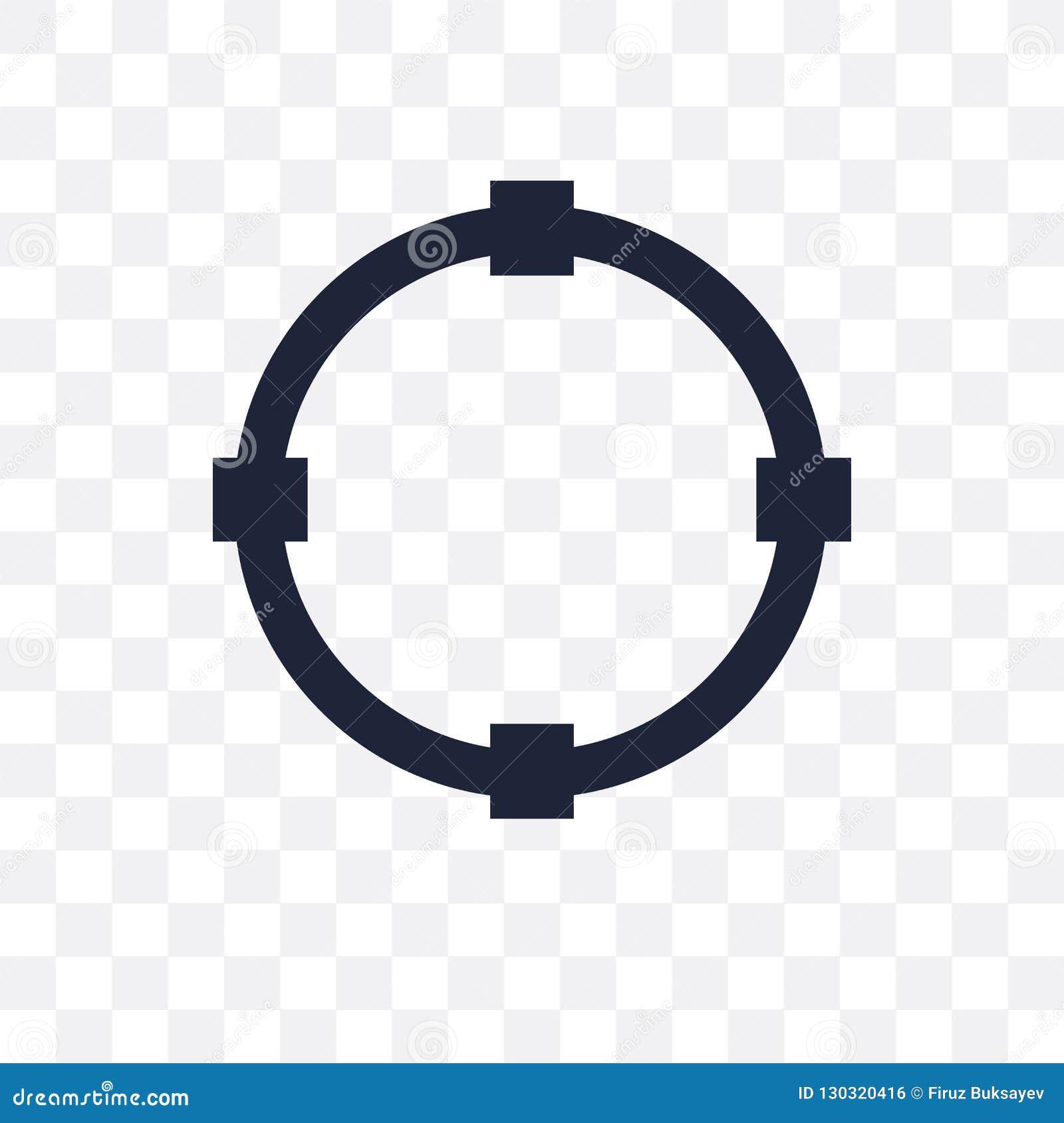 Wandeln Sie transparente Ikone um Wandeln Sie Symbolentwurf von Geometr um