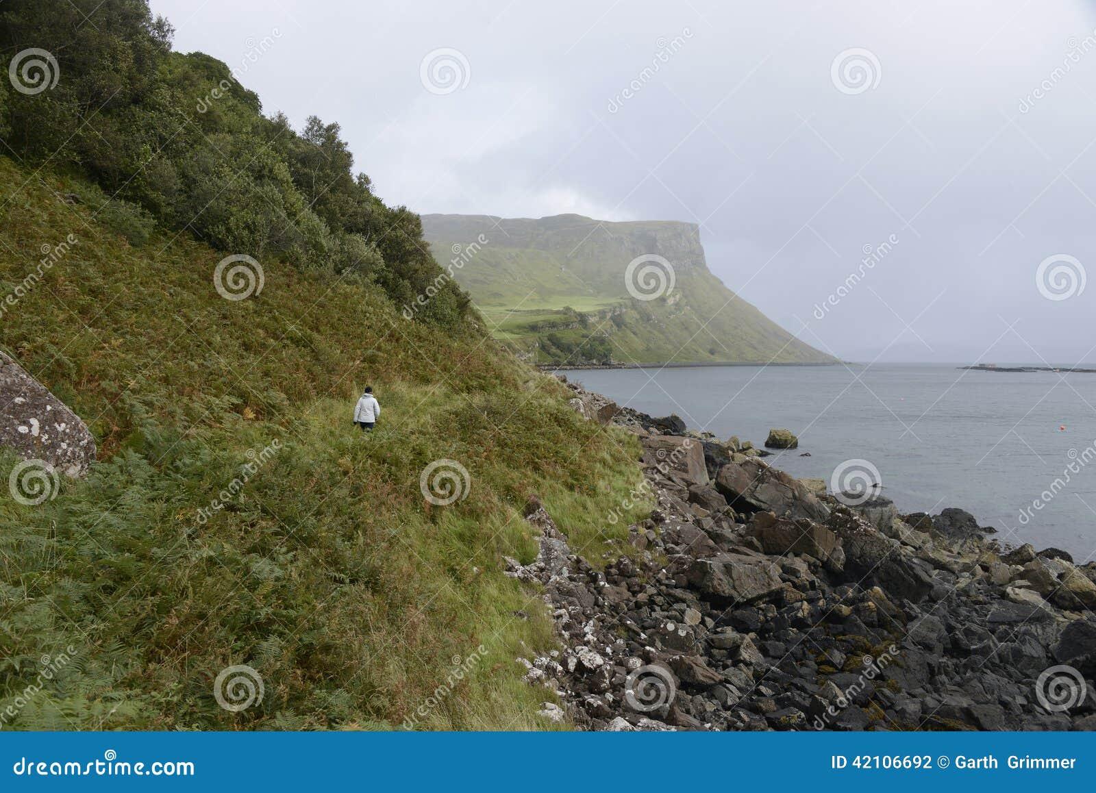 Wandern in Skye Scotland