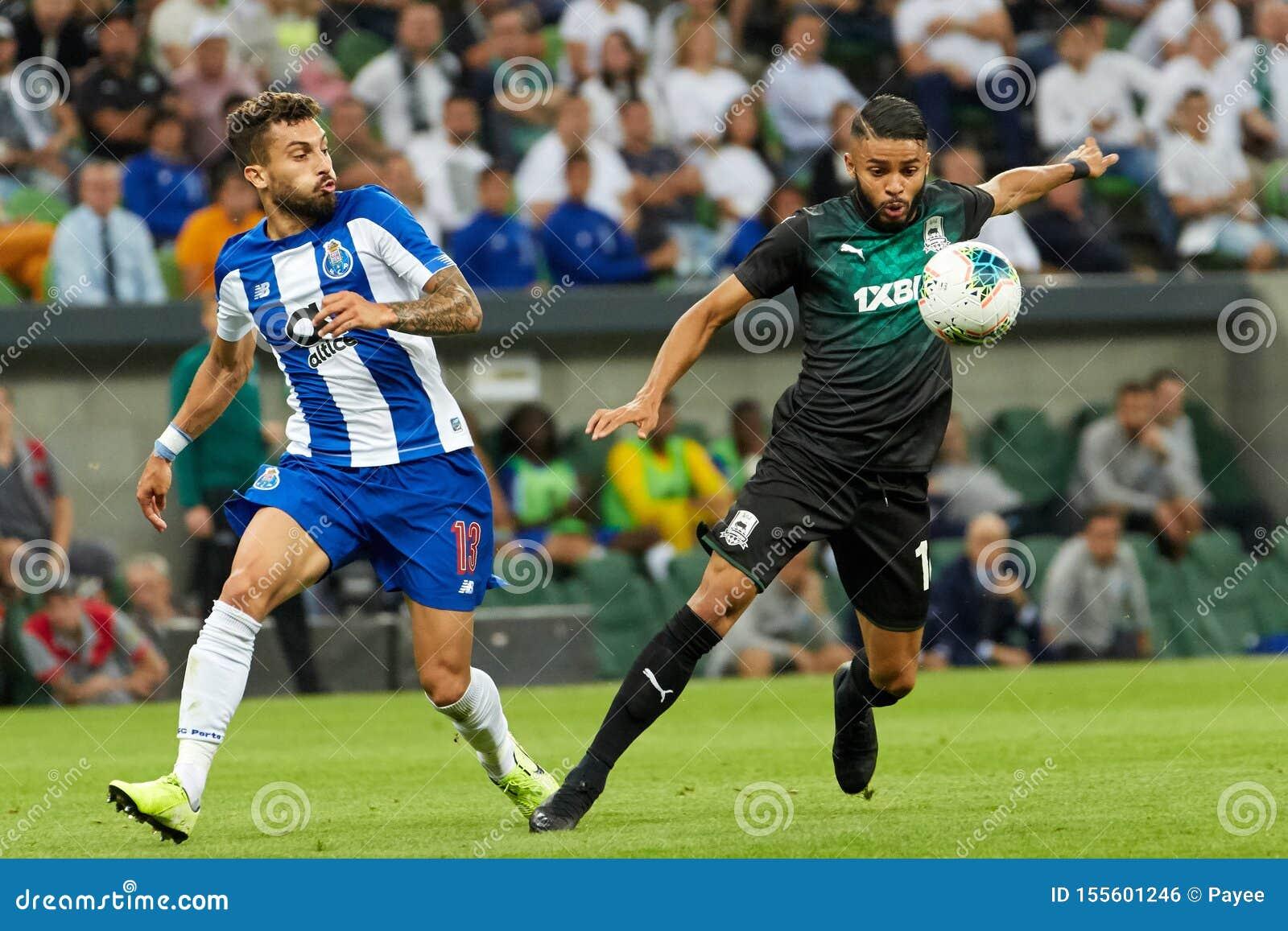 Wanderson Of Fc Krasnodar In Action Editorial Photo Image Of Action Stadium 155601246