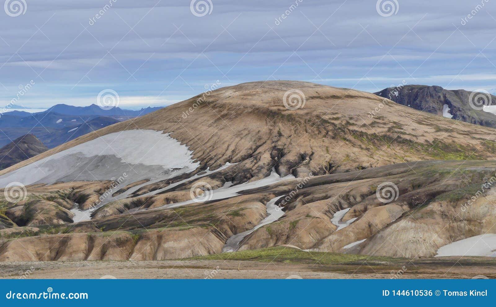 Wanderung Skalli - Landmannalaugar, kurze Wanderung nahe bis zum hei?en Quellen