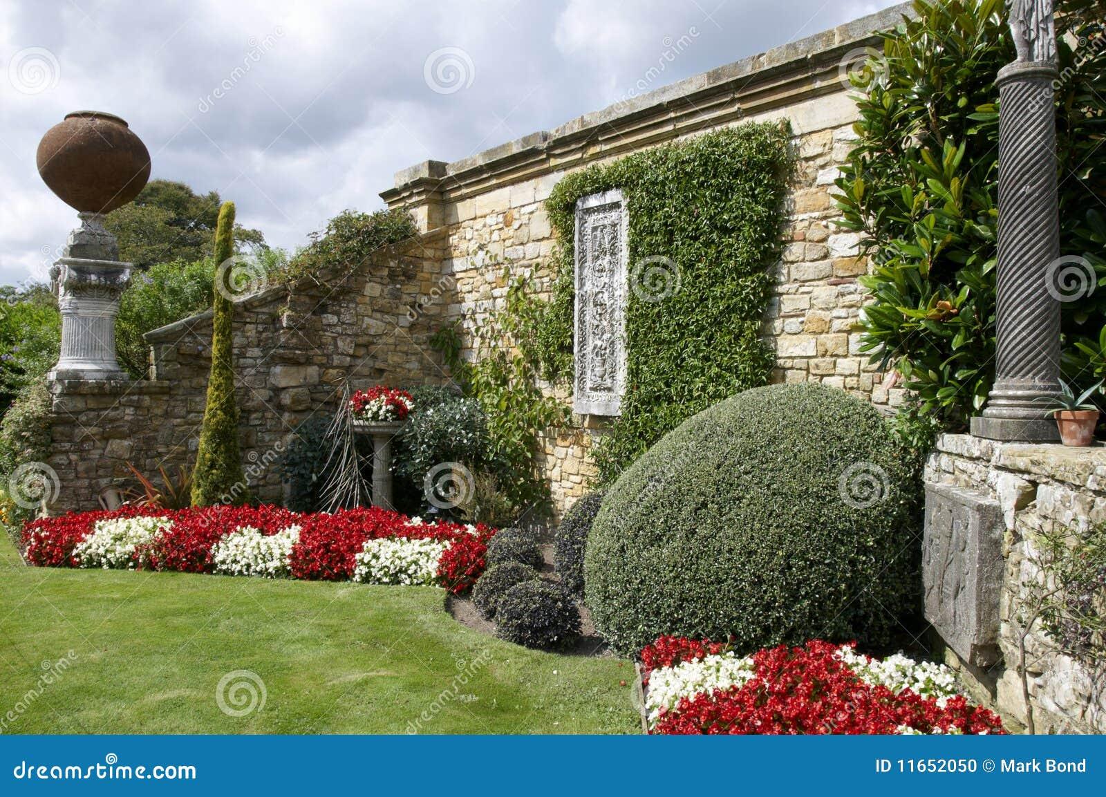 wandgarten stockfoto bild 11652050. Black Bedroom Furniture Sets. Home Design Ideas