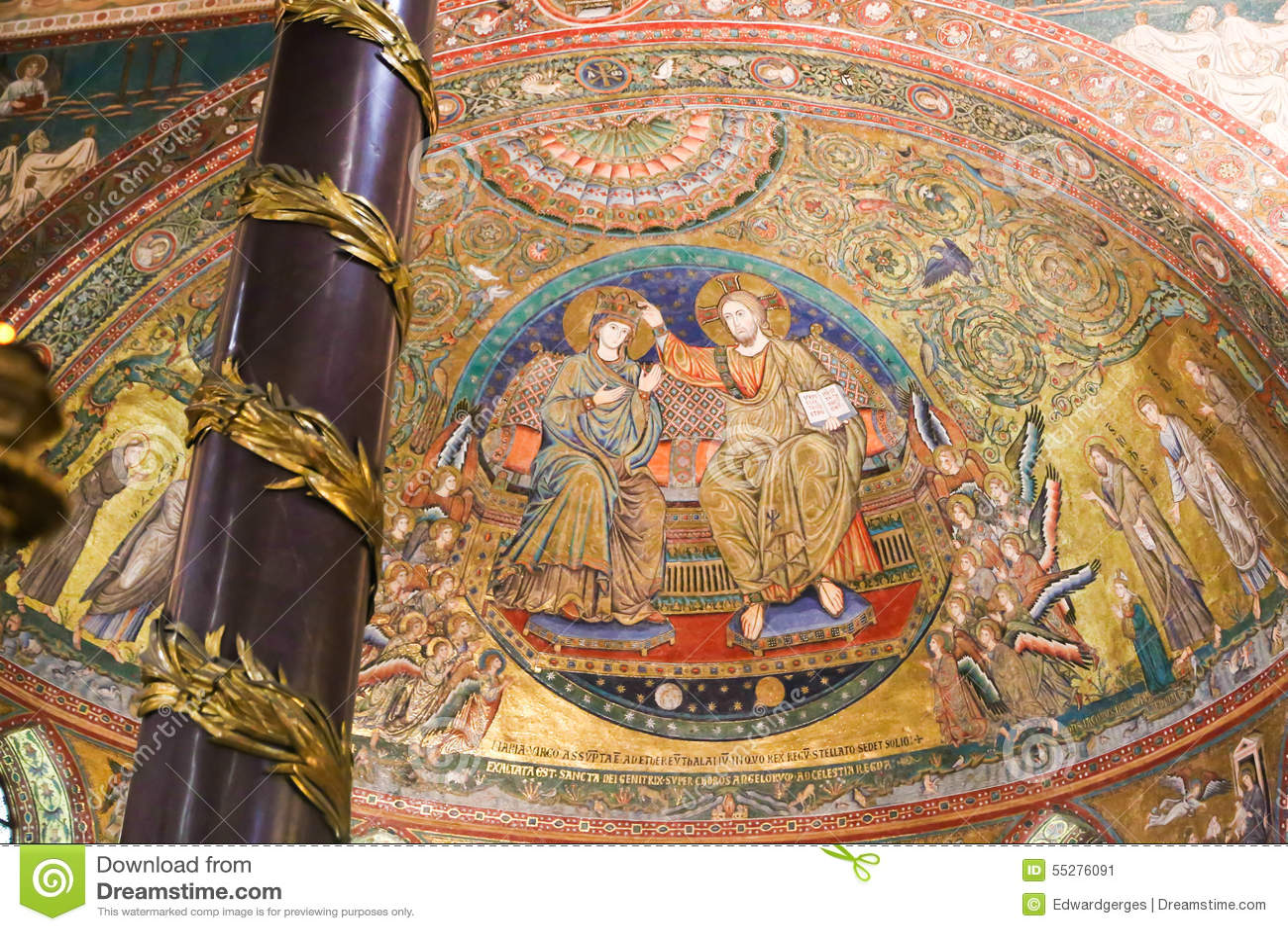 Wandgemälde von St. Peter Basilica, Vatikan