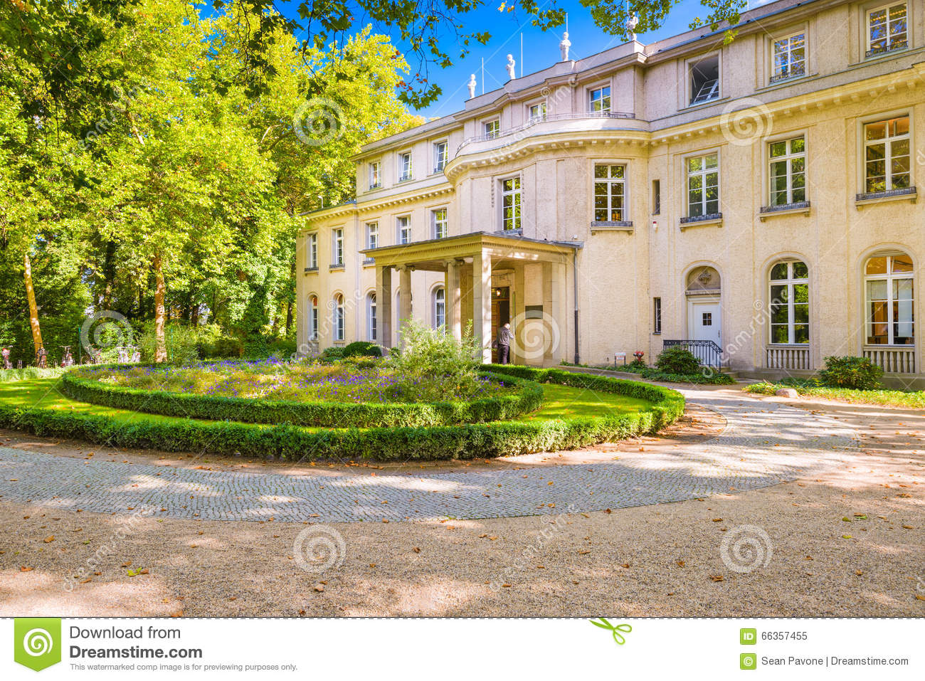 Wannsee House in Germany