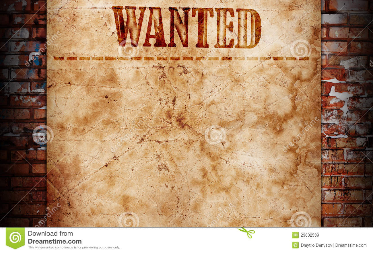 Blank Wanted Poster Paper Wanted Background Roya...