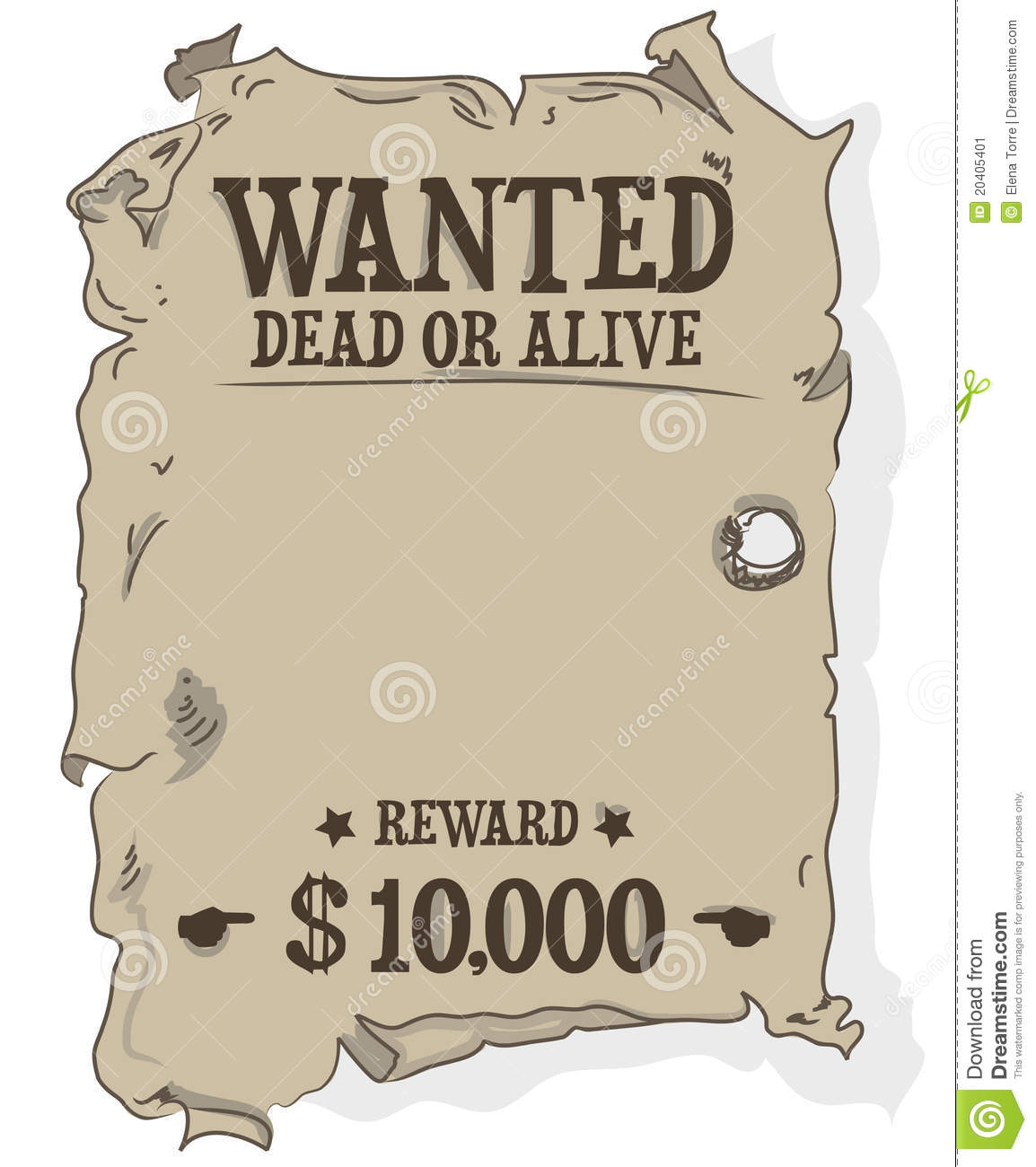 Wanted dead or alive - csp0927505