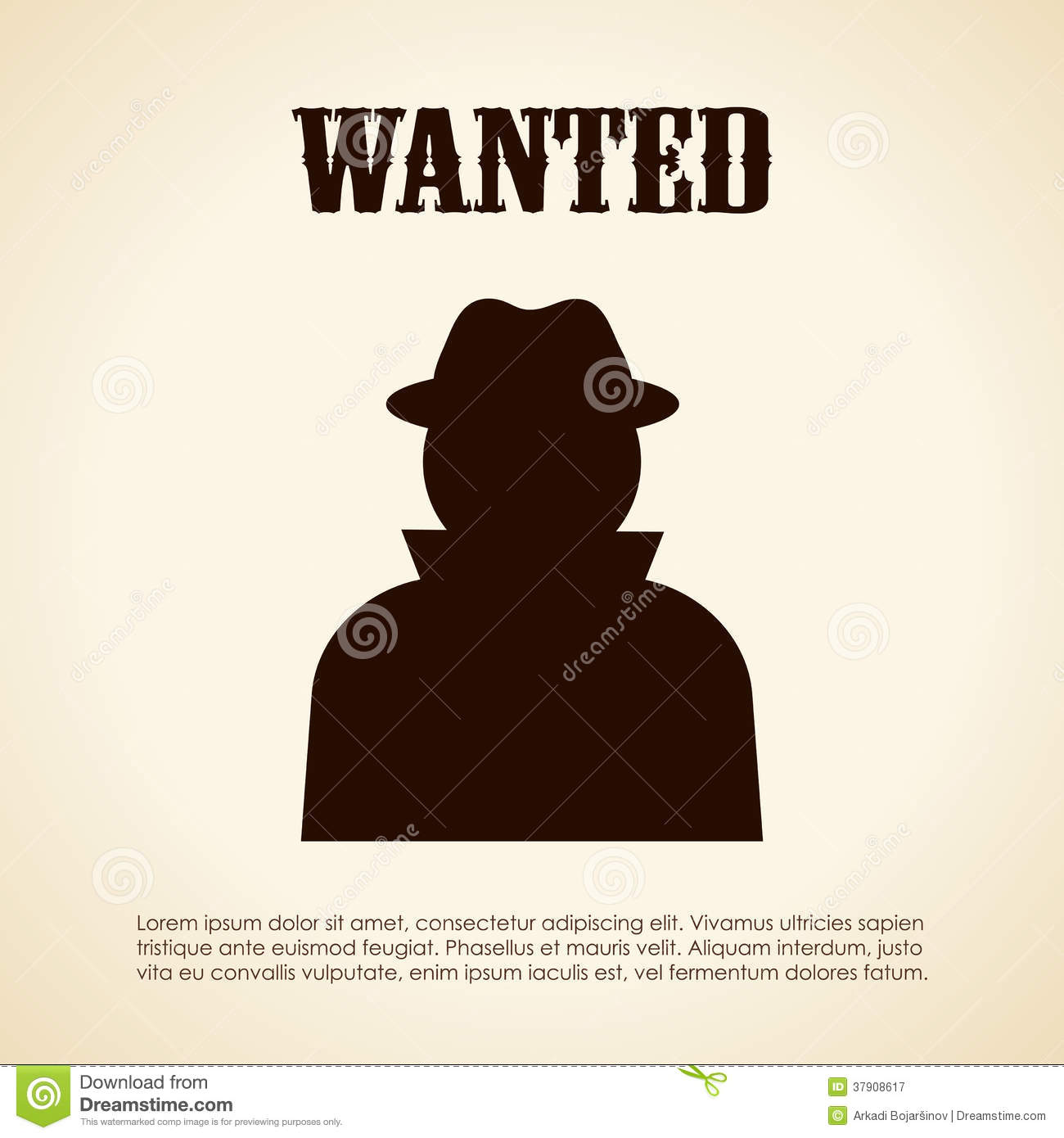 Wanted Person Royalty Free Photography Image 37908617 – Wanted Person Poster