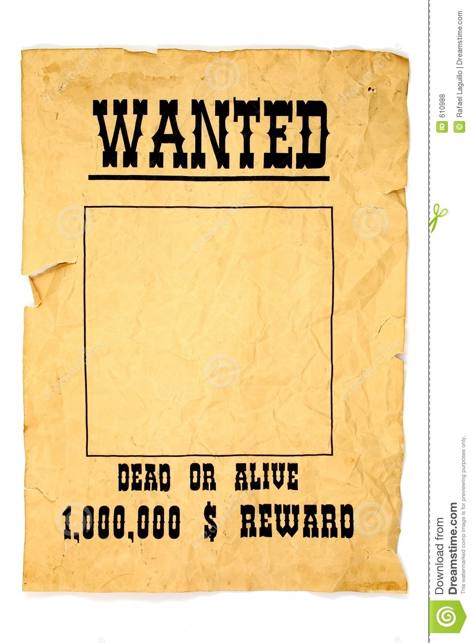 Wanted Poster Wanted poster stock ph...