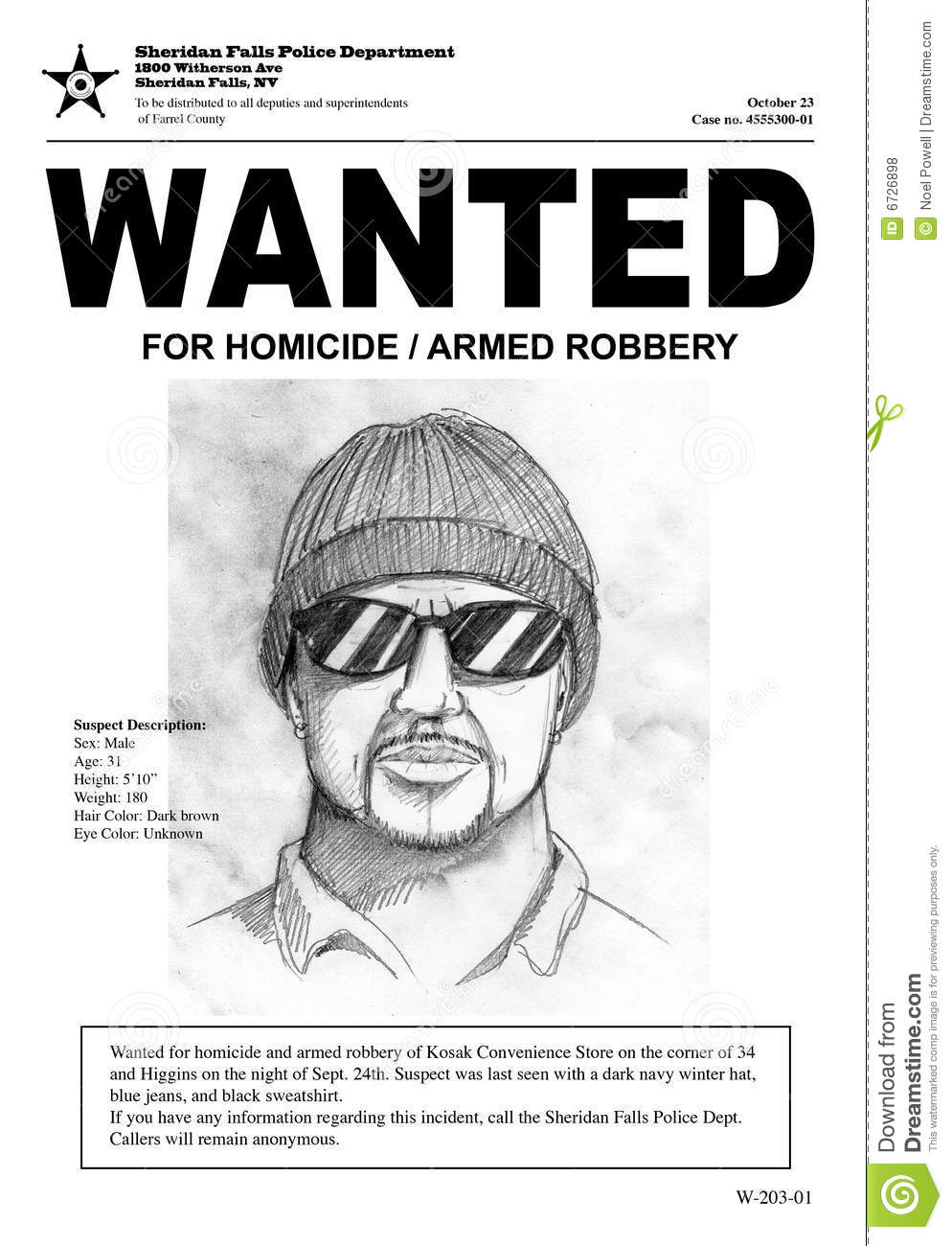 Doc416598 Sample Wanted Poster wantedlargejpg 72 Similar – Sample Wanted Poster